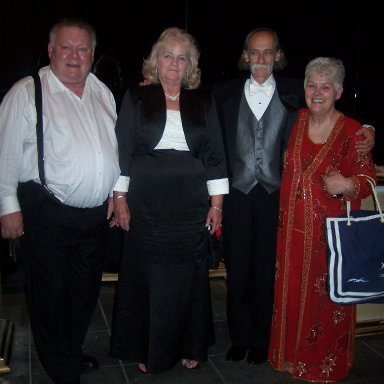 Harry Lee Hyde Jr., Carol Henry. David Lefever and Wanda Lund Early