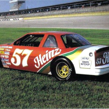 1988 #57 Morgan Shepherd Heinz
