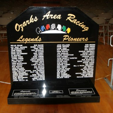 Ozarks Area Racing Legends - Springfield, Missouri