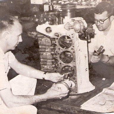 Paul Lewis and Herman Beam