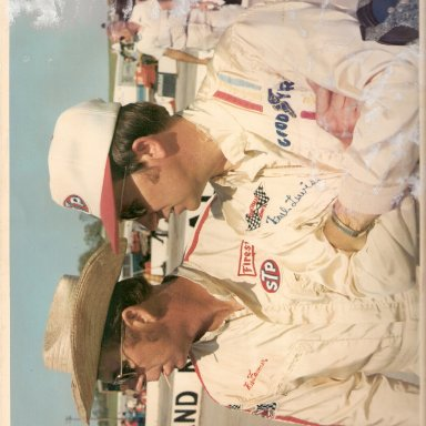 Paul Lewis and Red Farmer