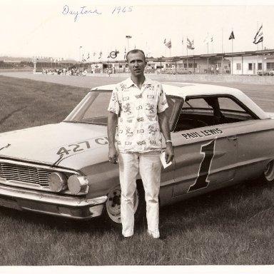 Paul Lewis, Daytona, 1965