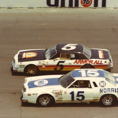 5 NEIL BONNETT 15 BOBBY ALLISON 1978