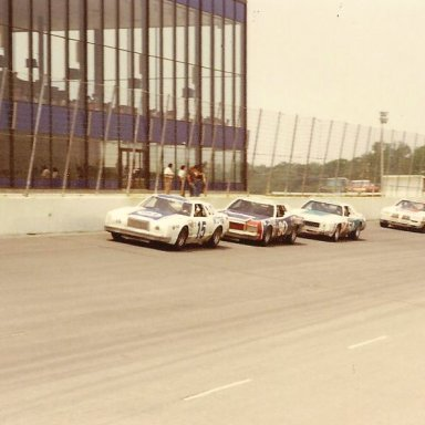 15 BOBBY ALLISON 90 DICK BROOKS 54 LENNIE POND 11 CALE YARBOROUGH 1978