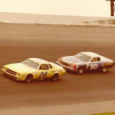 24 CECIL GORDON 90 DICK BROOKS 1976