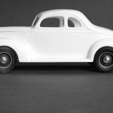 Resin 1939 Ford Standard Coupe by Early Racing Classics.