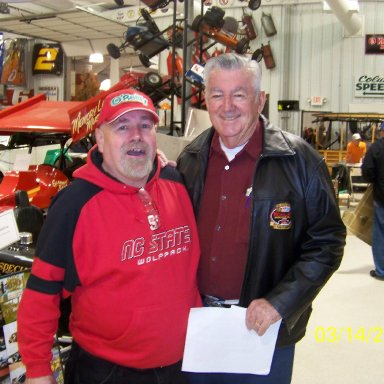 Me with Bobby Allison