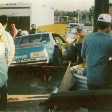 Race winner Tommy Houston