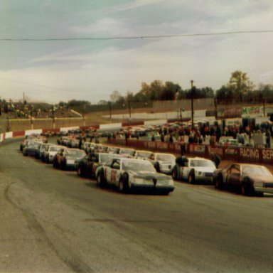 Starting Grid for '81 Bobby Isaac Memorial