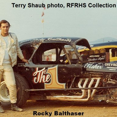 #1 Rocky Balthaser Reading Fairgrounds Speedway