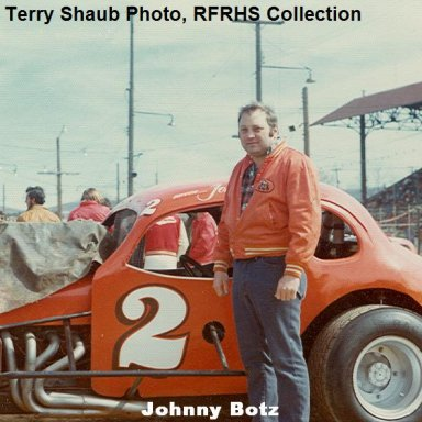 #2 Johnny Botz coupe Reading FairgroundsSpeedwaY