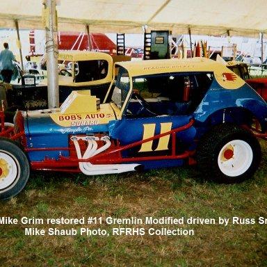 #11 Russ Smith Mod Grem restored to original condition