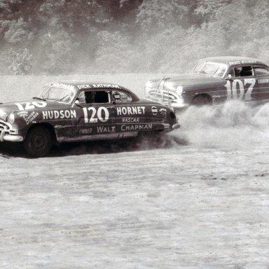 Dick Rathman#120 Hudson Hornet