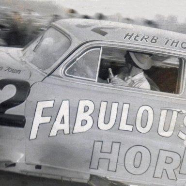 HerbThomas Harnett Speedway, Spring Lake, NC 1953