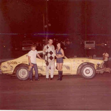 Harvey Jones takes a Late Model win in 1975 _Marty Little Collection_01