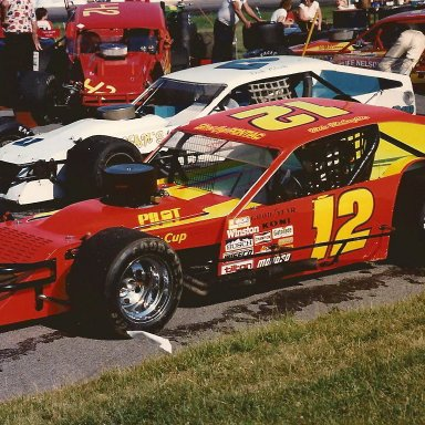 MIKE MCLAUGHLIN #12 1987 MODIFIED