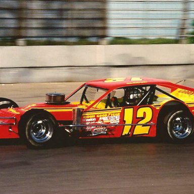 MIKE MCLAUGHLIN #12 1988 MODIFIED