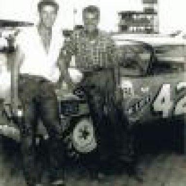Richard  and Richard Petty
