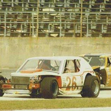 Paul Radford and Richie Evans