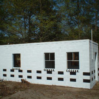 Completed Tkt Office, Frontside/Columbia Speedway