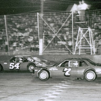 Bob Pressley & Morgan Shepherd @ Hickory
