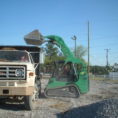 Loading and transporting Gravel/Columbia Speedway