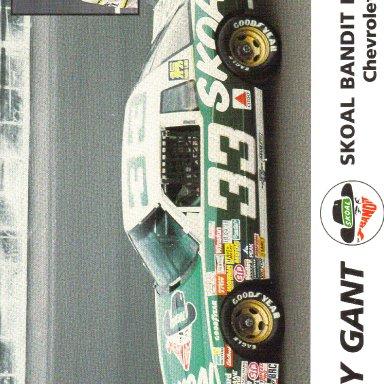 1987 #33 Harry Gant