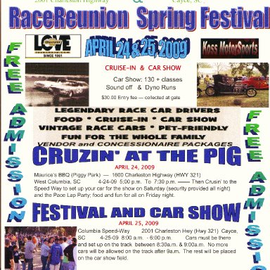 Columbia Speedway Show