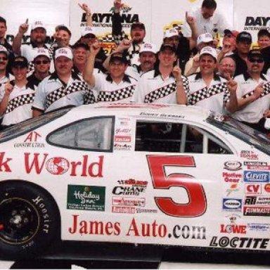 ARCA Daytona Victory 2002