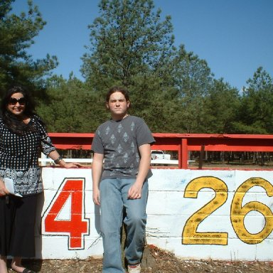 Stacie and Dylan Driggers/Columbia Speedway