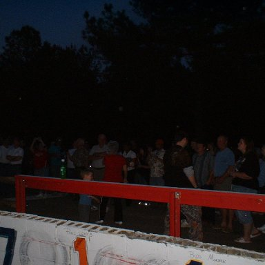 Start of Candlelight Ceremony/Columbia Speedway