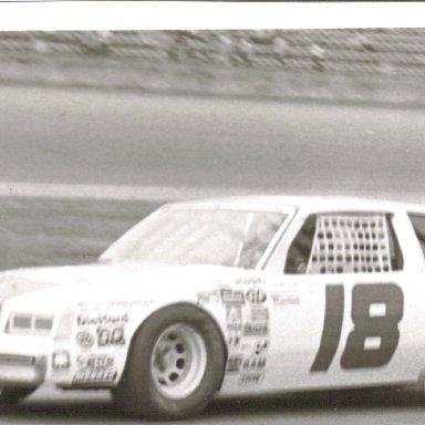 1982 #18 Donnie Allison at Daytona
