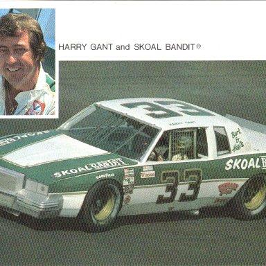 1981 #33 Harry Gant Skoal Bandit