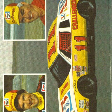 1983 #11 Darrell Waltrip Pepsi Challenger