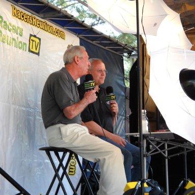 Ned Jarrett and Jeff Gilder