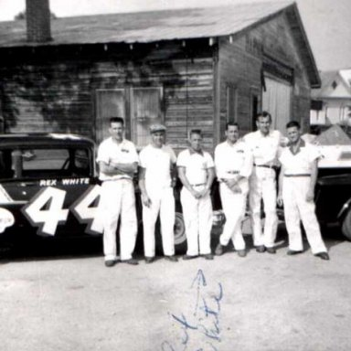 Rex White / Chevrolet Race Team 1957 Chevy Blackwidow