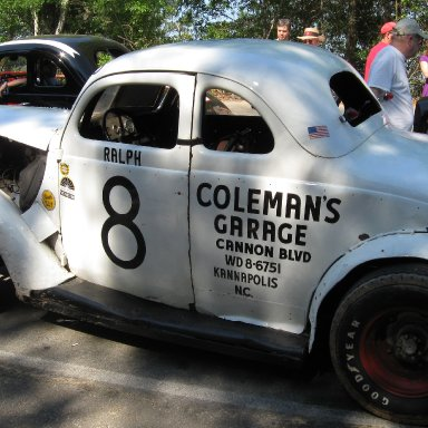Ralph Earnhardt's Car @ Cola Speedway