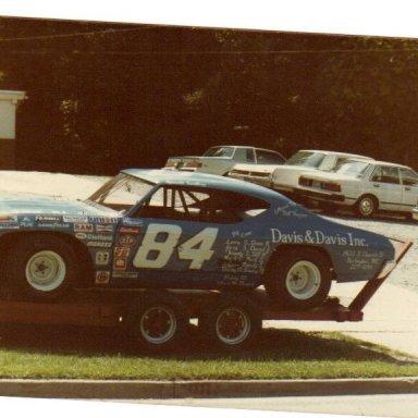 FIRST RACE CAR 1984