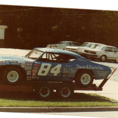 FIRST RACE CAR 1984