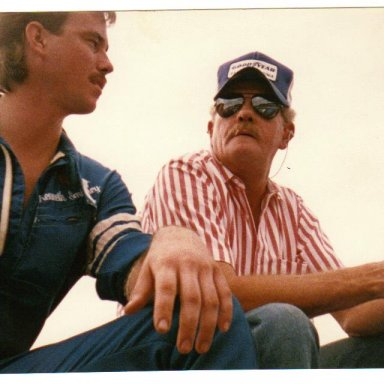 POP AND ME HAVING A TALK
