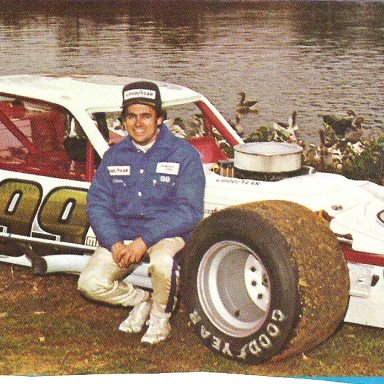 Geoff Bodine 1980 at Martinsville by the old pond
