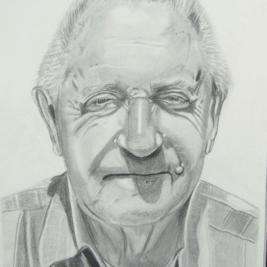 Rex White drawing