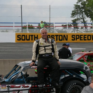 Randy Smith awaits qualifing at SoBo