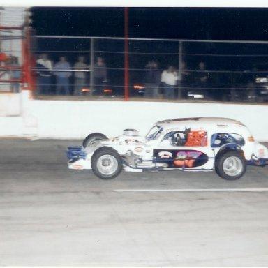 Jerry Scott winning at Franklin Co