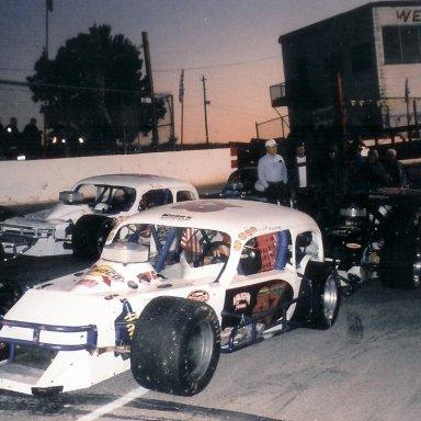 car #87 on pole at Franklin Co