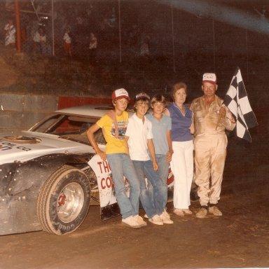 Monk's win at Log Cabin Speedway
