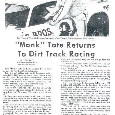 Monk Tate