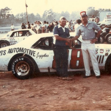 David Pearson drove Monk's car at Trico