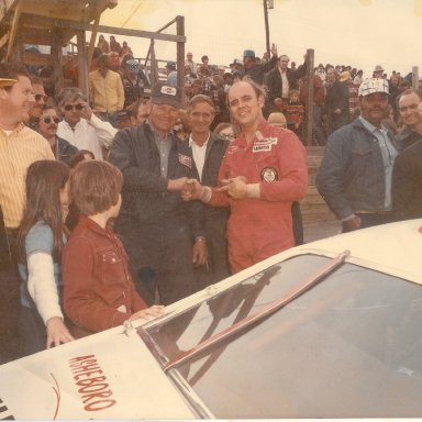 Benny Parsons drove Monks car at Trico