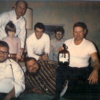 Good time gang at Daytona Beach with Big Jesse